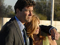 Connie Britton says that shooting the last scene for the Friday Night Lights finale was heart-wrenching.