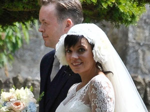 Lily Allen getting married.