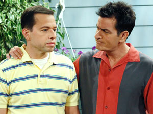 Alan and Charlie Harper from Two And A Half Men