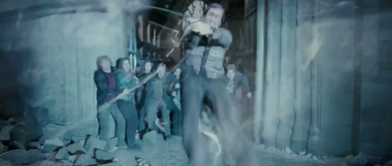 Neville Longbottom steps into the line of fire.