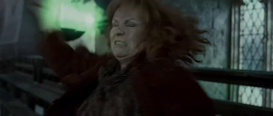 Molly Weasley during the battle.