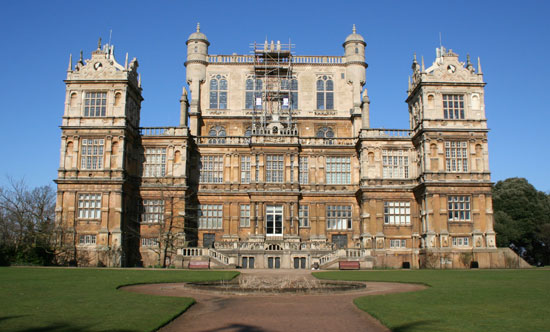 The new Wayne Manor: Wollaton Hall