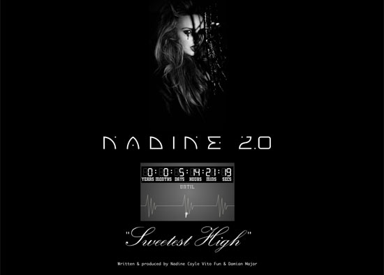 Nadine Coyle 2.0 logo