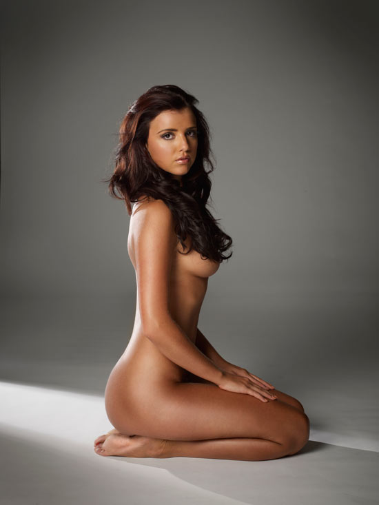 Lucy Mecklenburgh naked in New!