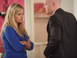 Max turns up outside Tanya's door wanting to talk about the night they slept together.