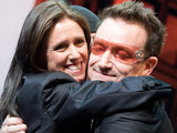 Bono and Julie Taymor