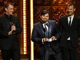 Trey Parker and Matt Stone at the Tony Awards