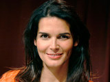 Model and actress Angie Harmon