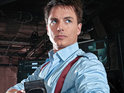 "John Barrowman admits that he felt ""very nervous"" working with Bill Pullman on Torchwood."