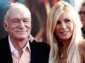 Crystal Harris is accused of planning to jilt her ex-fiancé Hugh Hefner at the altar.