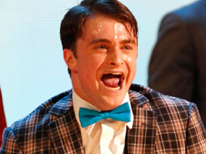 Tonys 2011: Daniel Radcliffe performing with the cast of How to Succeed in Business Without Really Trying
