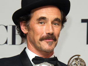 Tonys 2011: Mark Rylance poses with his 'Best Performance By An Actor In A Leading Role In A Play' prize for his role in Jerusalem.