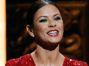Tonys 2011:Catherine Zeta-Jones, who won a Tony Award last year, presented the lead male acting awards.
