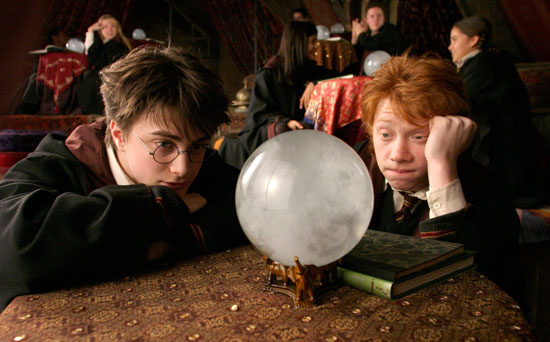 Harry and Ron Weasley