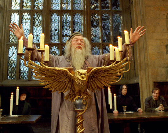 Michael Gambon as Albus Dumbledore
