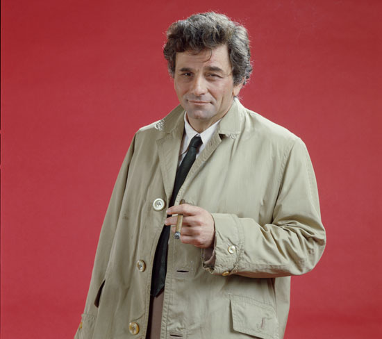 Peter as Columbo