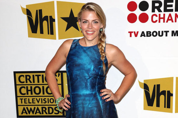 Busy Philipps arriving at the Critics' Choice TV Awards