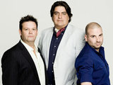 Gary Mehigan, Matt Preston and George Calombaris from MasterChef Australia