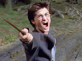 Harry gets ready for some wand action.