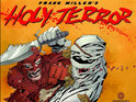Holy Terror is named as the bestselling graphic novel for September.