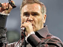 Morrissey entertains the Glastonbury crowd with a collection of his old and new material.