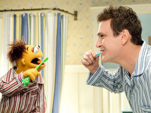 Jason Segel in 'The Muppets'