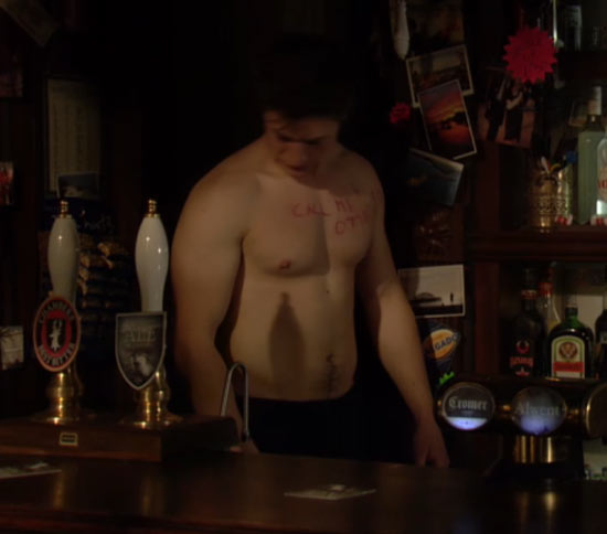 Tony Discipline in EastEnders