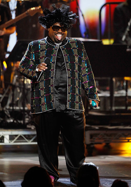 Cee Lo Green performs at the BET Awards