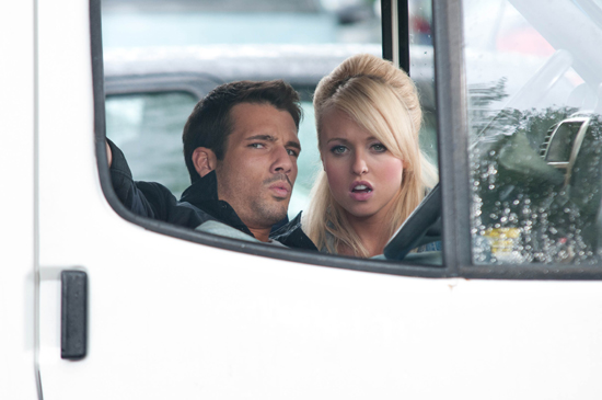 Theresa and Dodger follow Ethan in Hollyoaks