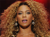 Beyonce performs at the 2011 Glastonbury Music Festival