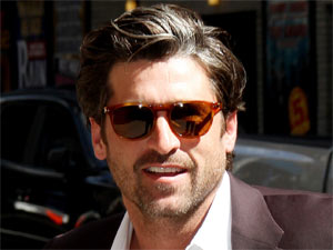 Patrick Dempsey arrives at New York City's Ed Sullivan Theatre ahead of this appearance on 'The Late Show with David Letterman'