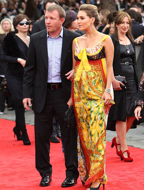 Guy Ritchie and girlfriend Jacqui Ainsley