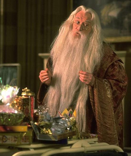 Hogwarts headmaster Albus Dumbledore