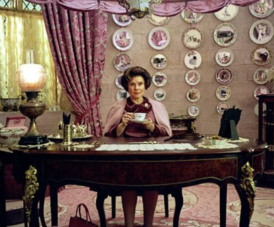 Dolores Umbridge's office