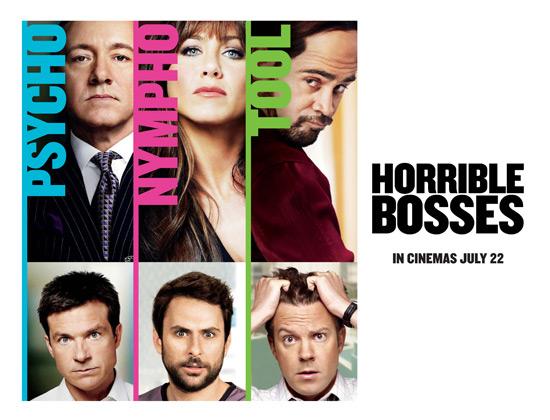 'Horrible Bosses' Quad poster