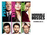 'Horrible Bosses' poster