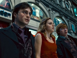 Harry Potter, Hermione Granger and Ron Weasley in 'Harry Potter And The Deathly Hallows Part 1'