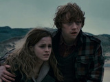 Hermione Granger and Ron Weasley in 'Harry Potter And The Deathly Hallows Part 1'