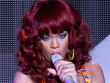 Rihanna performs live in Las Vegas, Nevada
