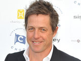 Hugh Grant attends Chucs Dive and Mountain Shop Charity Water held at the Serpentine, Hyde Park