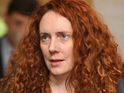 News International chief executive Rebekah Brooks addresses News of the World staff.