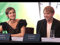 Watch Emma Watson, Rupert Grint and Ralph Fiennes discuss Harry Potter and the Deathly Hallows: Part 2 at the press conference.