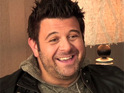 Adam Richman chats to Digital Spy about his 72oz steak-eating challenge on Man v. Food.