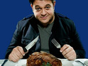 Adam Richman reveals to Digital Spy that he would love to film a Man v. Food UK special.