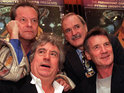 Terry Jones reveals that the surviving members of Monty Python are set to reform for a sci-fi movie.