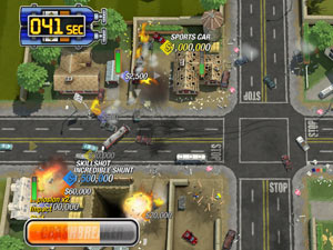 'Burnout Crash' screenshot