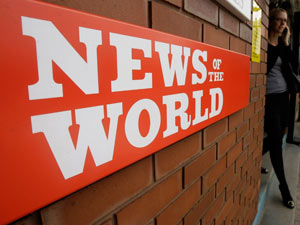 News Of The World offices
