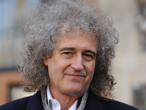 Guitarist Brian May