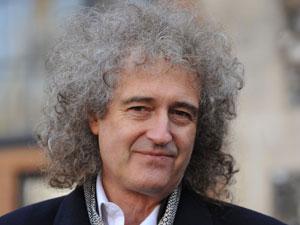 Guitarist Brian May