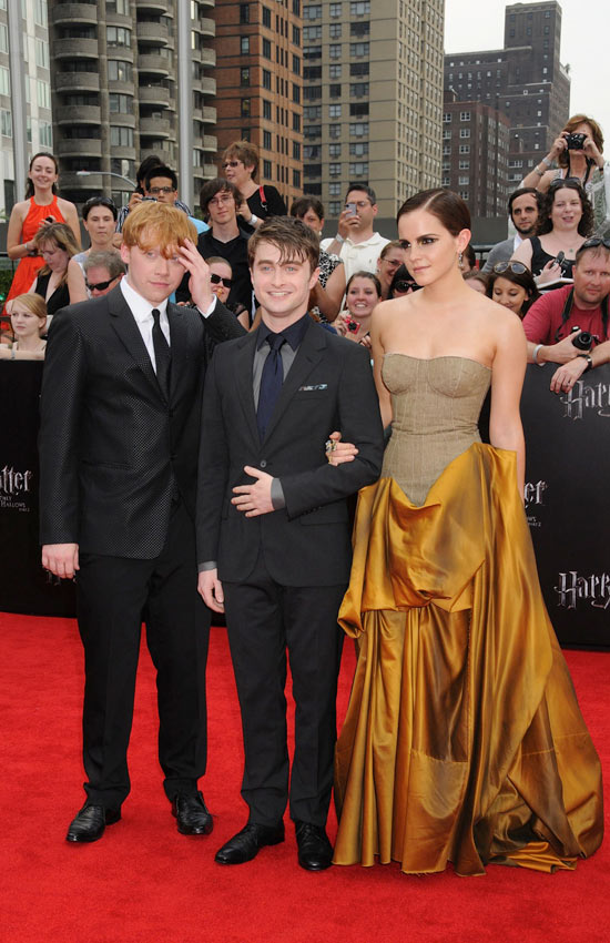 Harry Potter And The Deathly Hallows Part 2: New York premiere